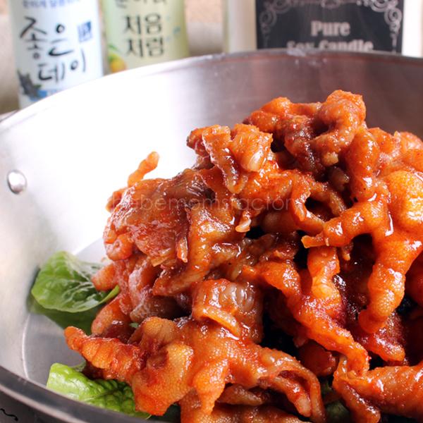 구운무뼈닭발 250g/1-2인분