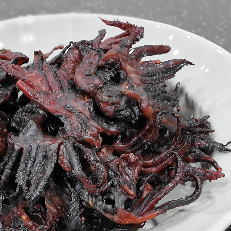 꾸이오징어 까망숏다리200g / 애기족/흑족/pc방숏다리