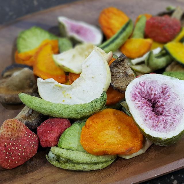 동결건조야채칩/말린과일/건조과일/건조야채
